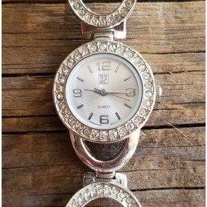 NY&C Silver Watch